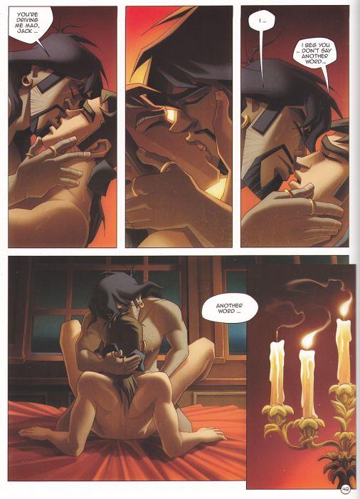 Gay black comic porn