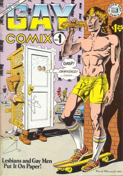 В нью-йоркском Музее секса выставили гей-комиксы.