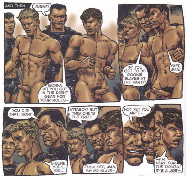 Gay Comics List